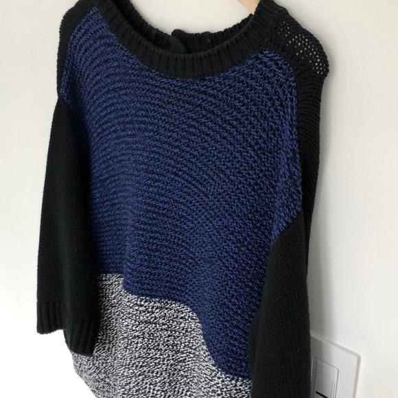 Stella McCartney Heavy Knit Colour-block Sweater